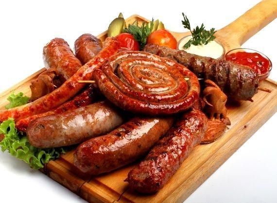 набор из колбасок