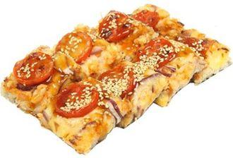 суси пицца с беконом